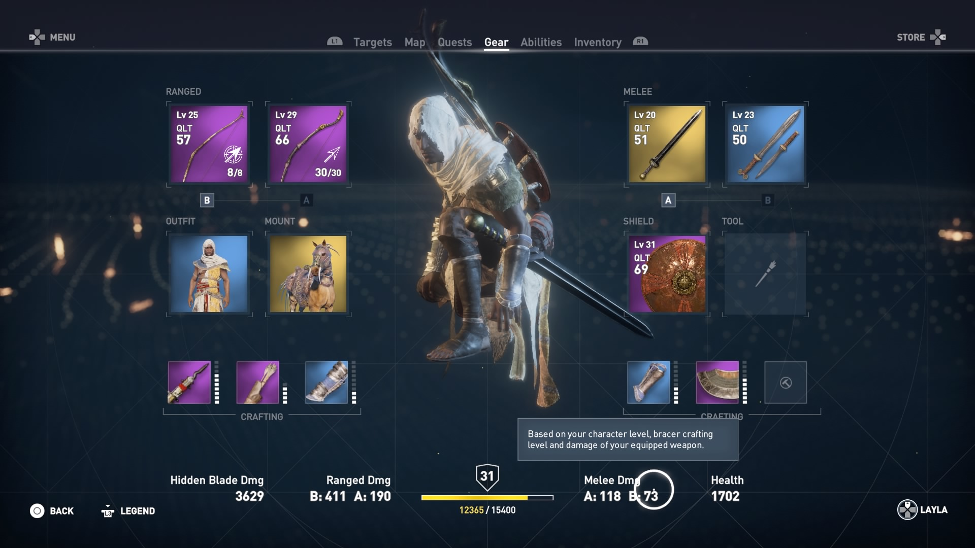 Assassin S Creed Origins Hidden Blade And Upgrade Guide Rpg Site