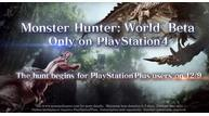 Monster hunter world beta test