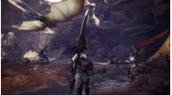 Monster hunter world gathering at camp