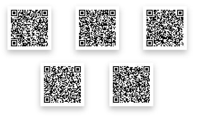 Pokemon Ultra Sun & Moon QR Codes: Island Scan Reusable QR