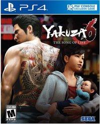 Yakuza 6 na box art