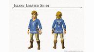 Switch zeldabotw artwork islandlobstershirt