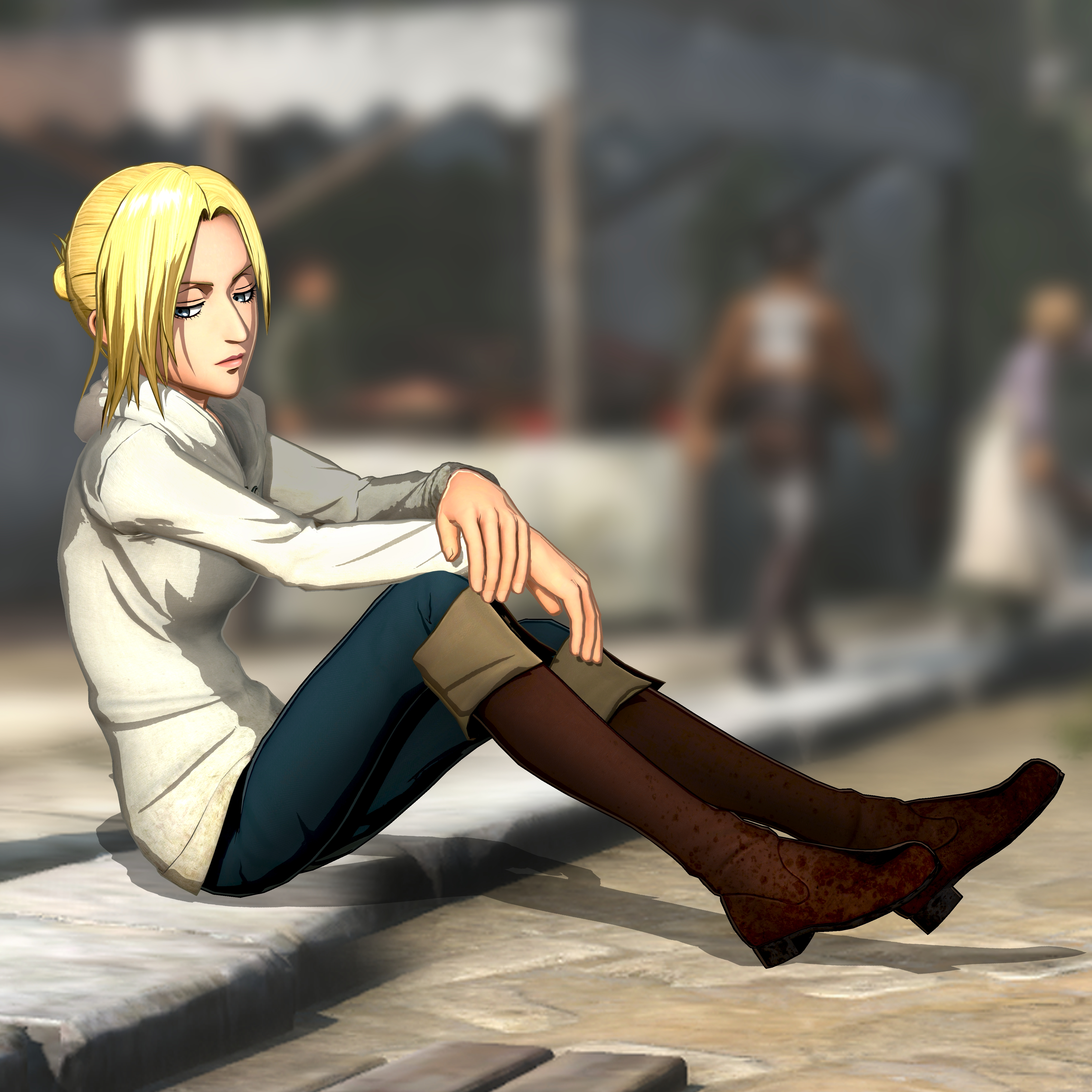 New Screenshots For Attack On Titan 2 Showcase Character