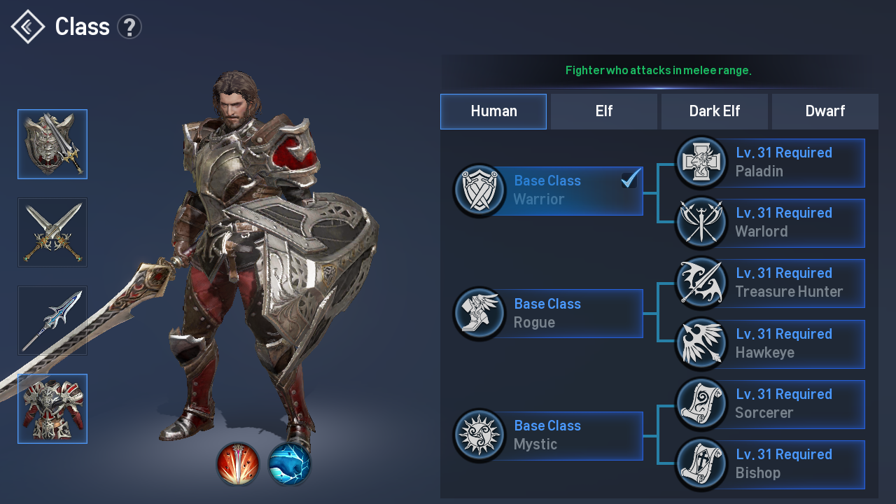 Lineage Ii Revolution Class Guide All The Races The Specialized