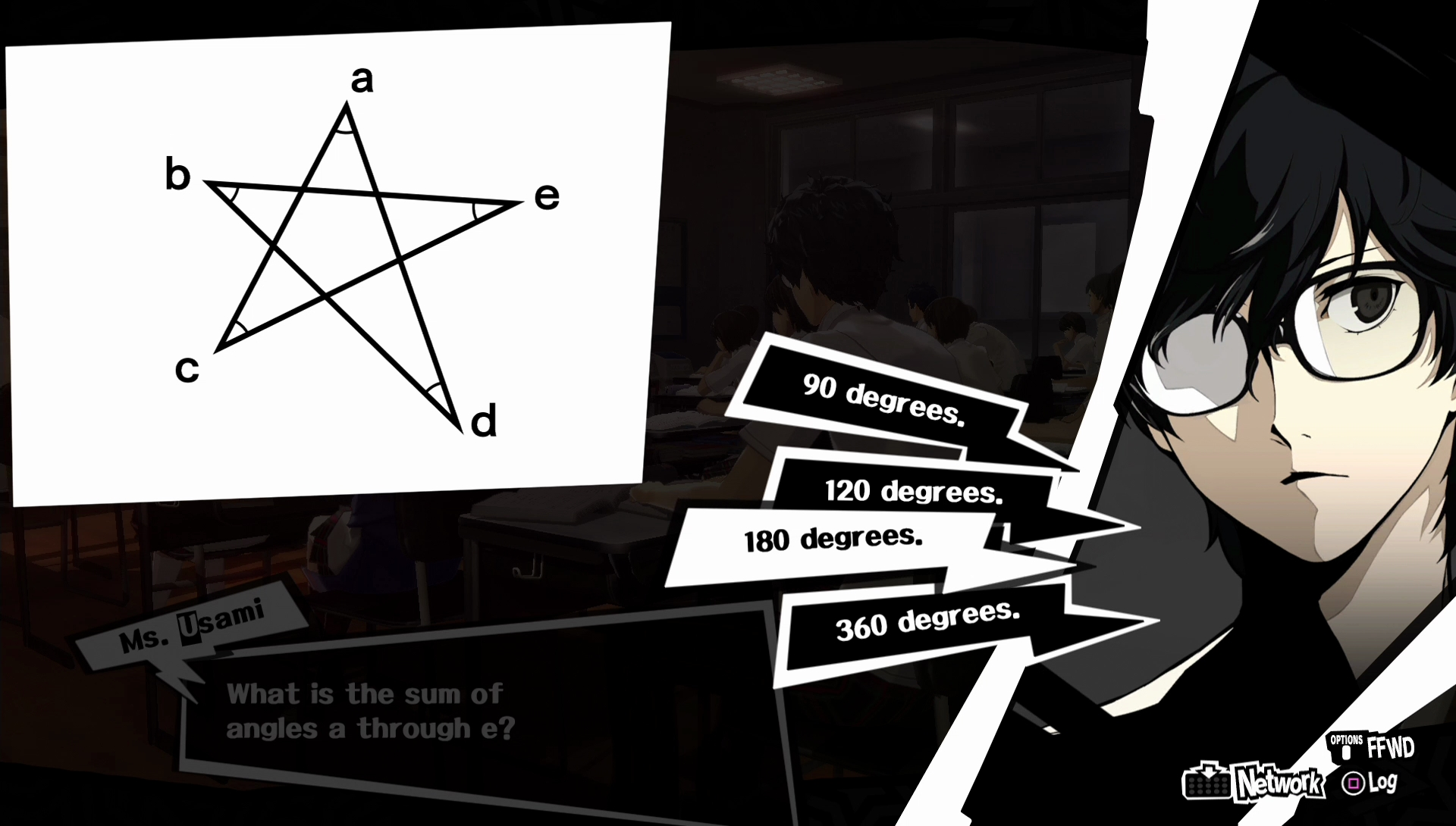 Persona 5 Test Answers Every School Class Quiz Answer For All