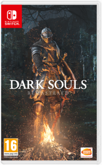 Dark souls remastrered switch box pegi