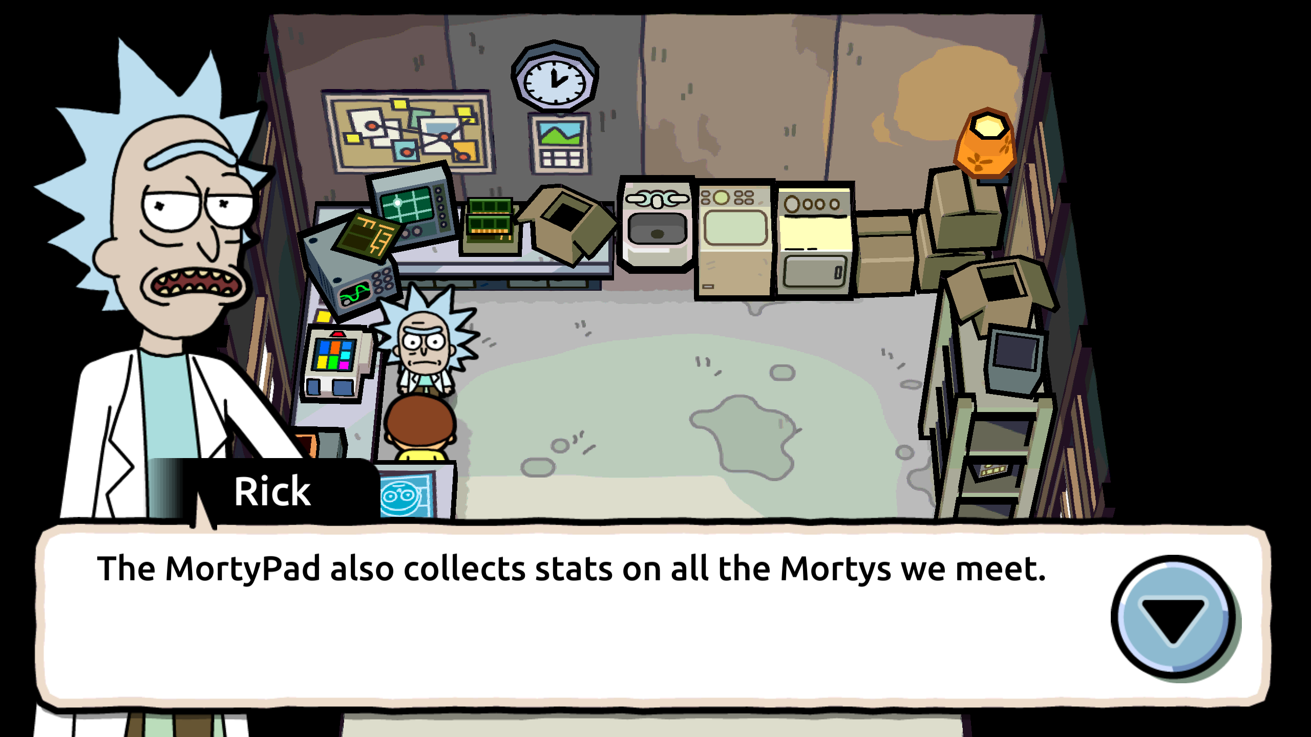 Mobile Moments Pocket Mortys