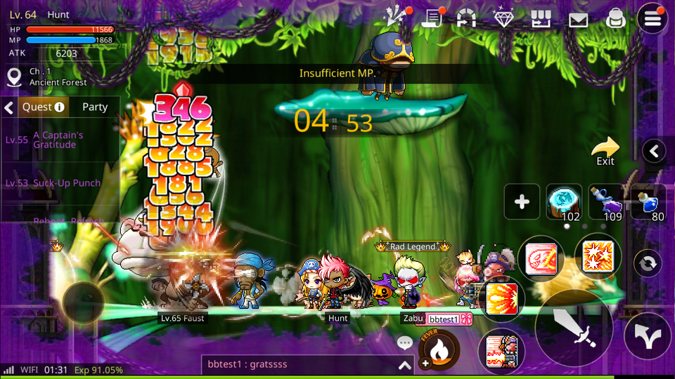 maplestory v55 how to get to dyle