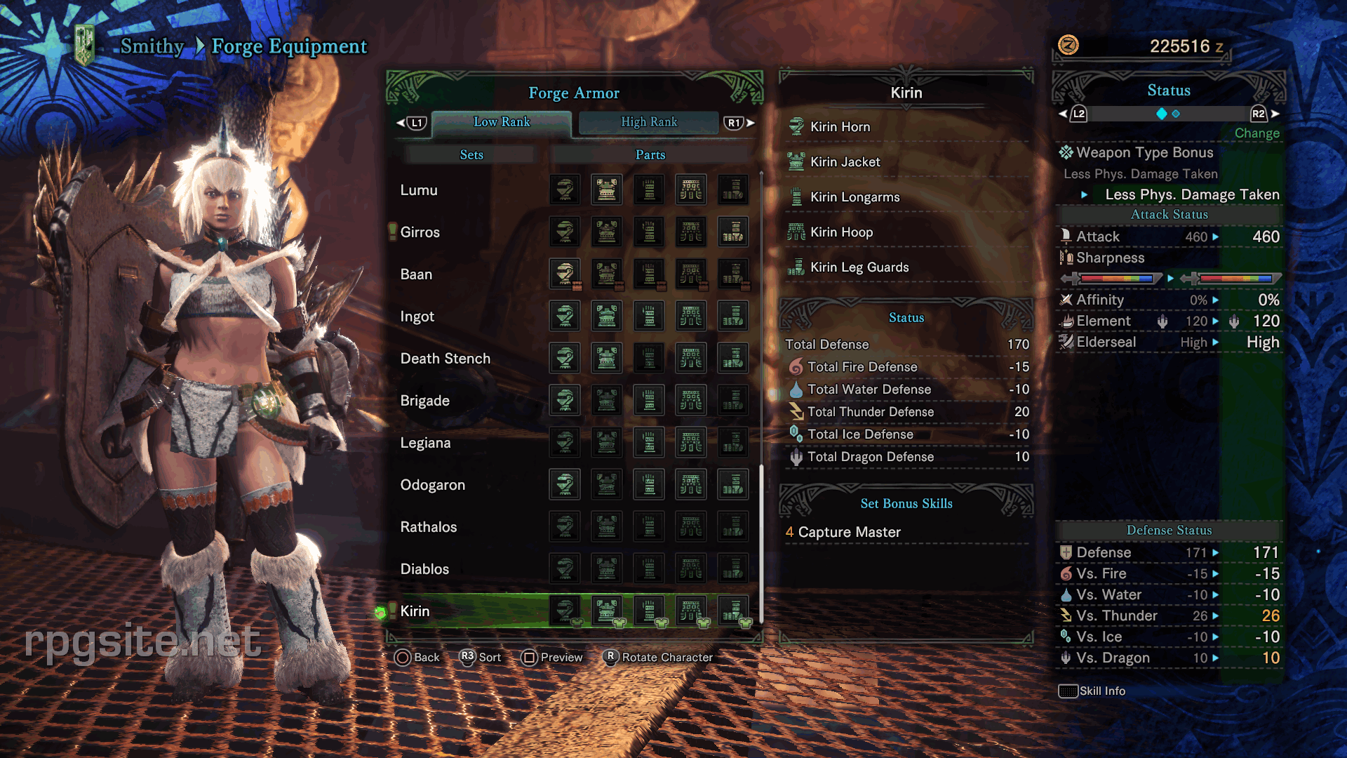 Monster Hunter World Female Armor Sets All Low Rank Female Armor