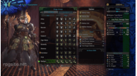 Monster hunter world female armor lr rathian