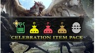 Monster hunter world commemorative gift 5 million celebration item pack