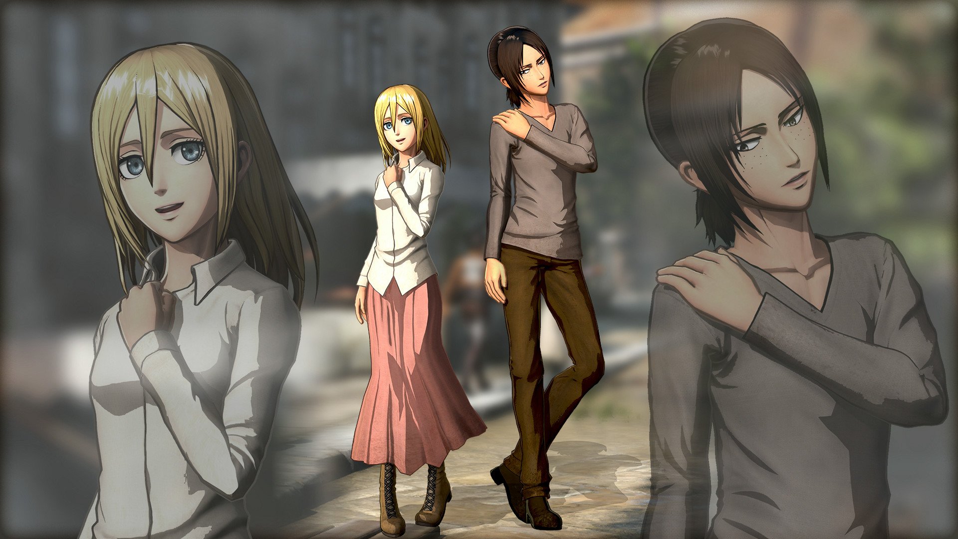 learn about the battle system in attack on titan 2 in a