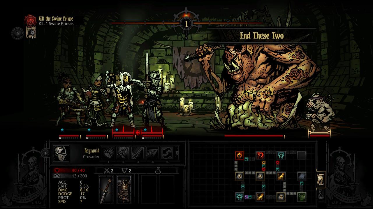Darkest Dungeon Review   RPG Site