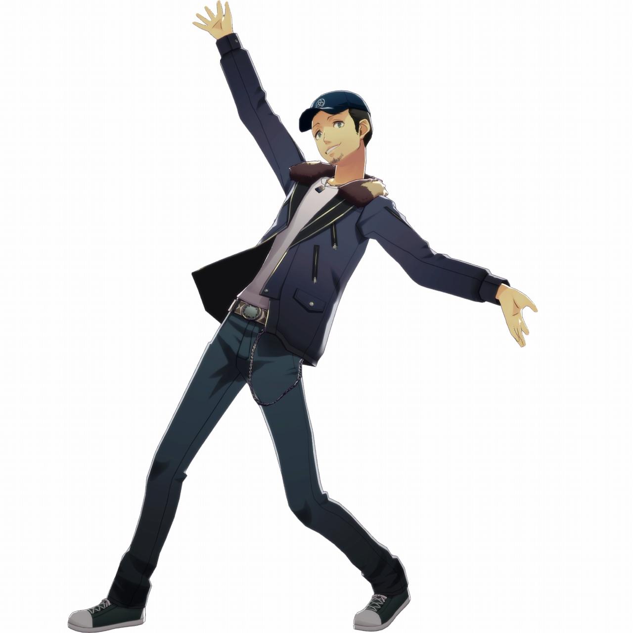 Persona Amp Dancing Morgana Yusuke Mitsuru Akihiko Screenshots Commu Mode