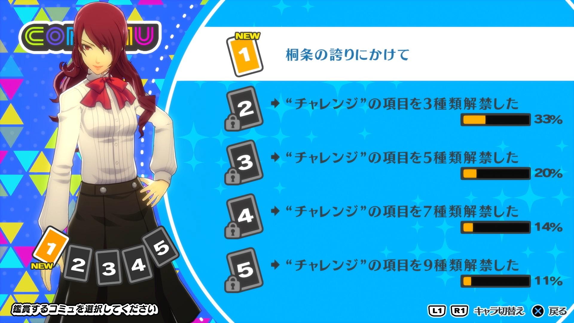 Persona 5 Persona 3 Dancing Morgana Yusuke Mitsuru Akihiko