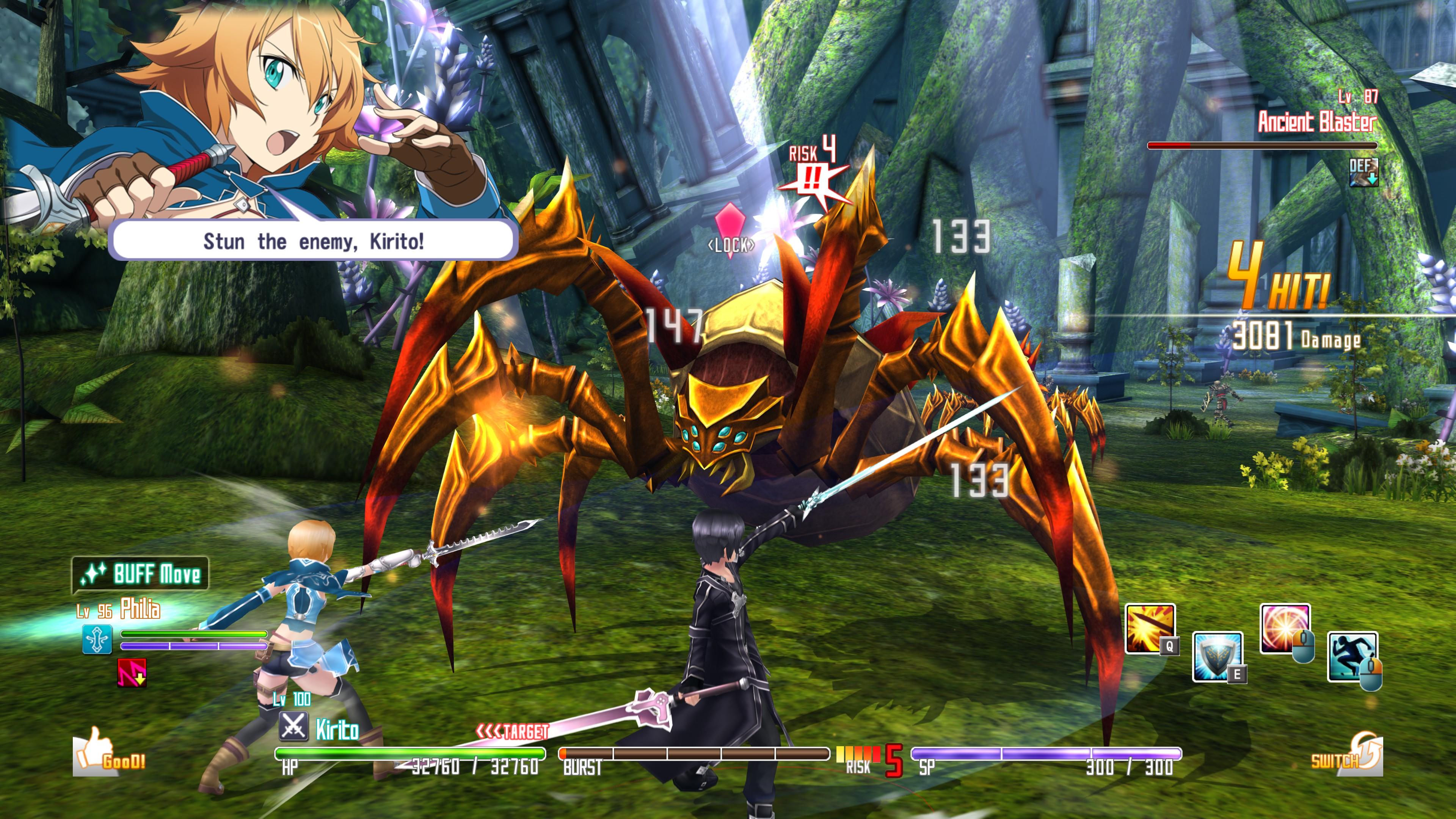 Sword Art Online: Hollow Fragment   RPG Site