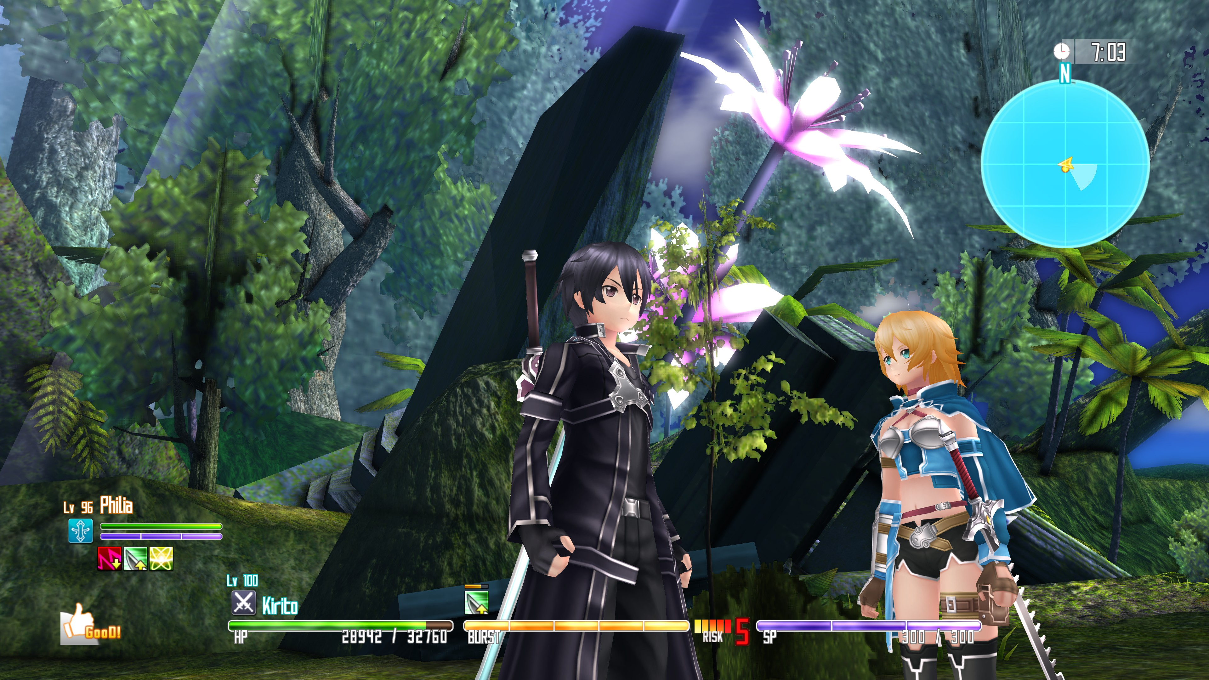 Sword Art Online Re: Hollow Fragment available on Steam on March 23