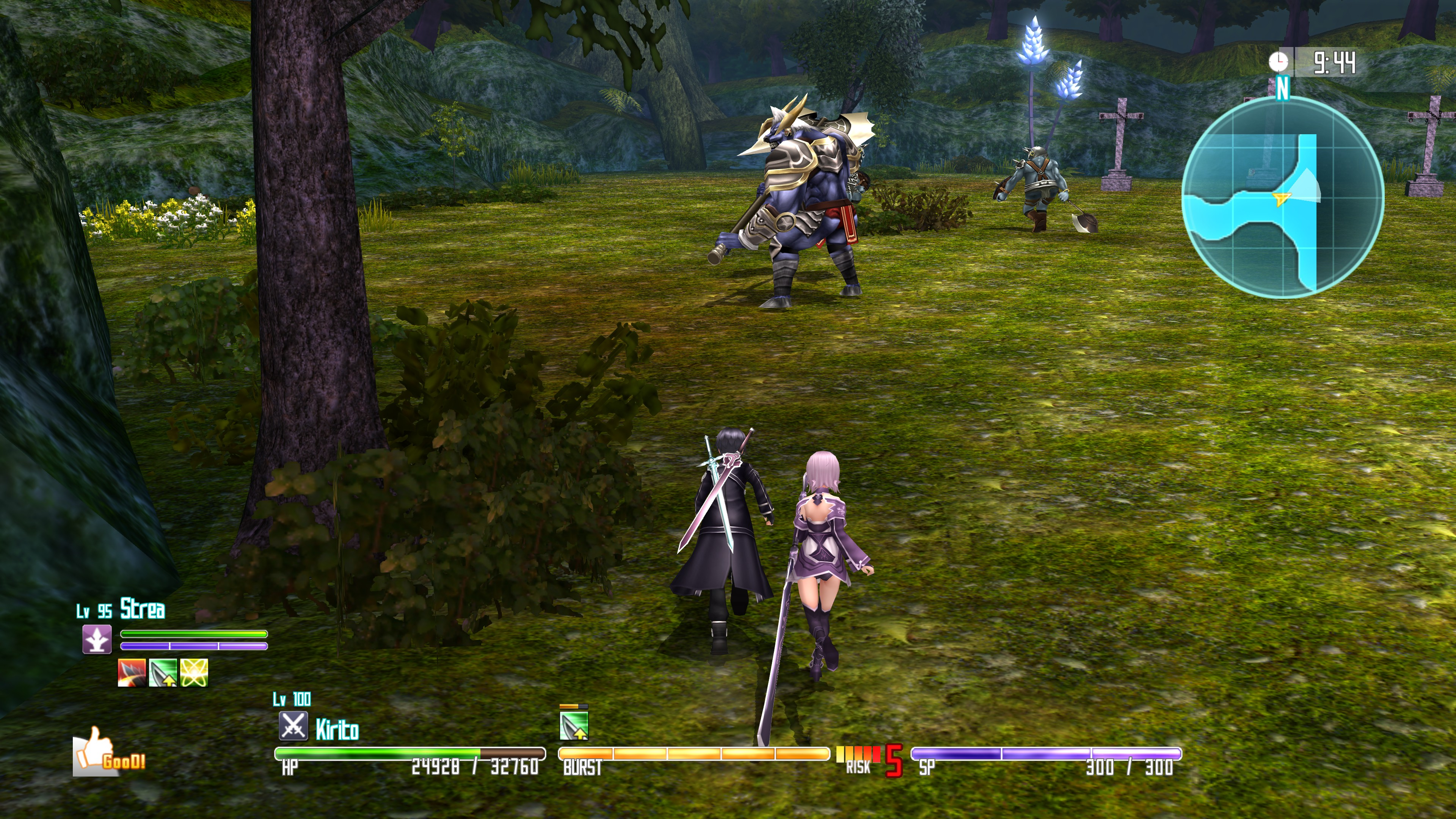Sword Art Online Re: Hollow Fragment available on Steam on