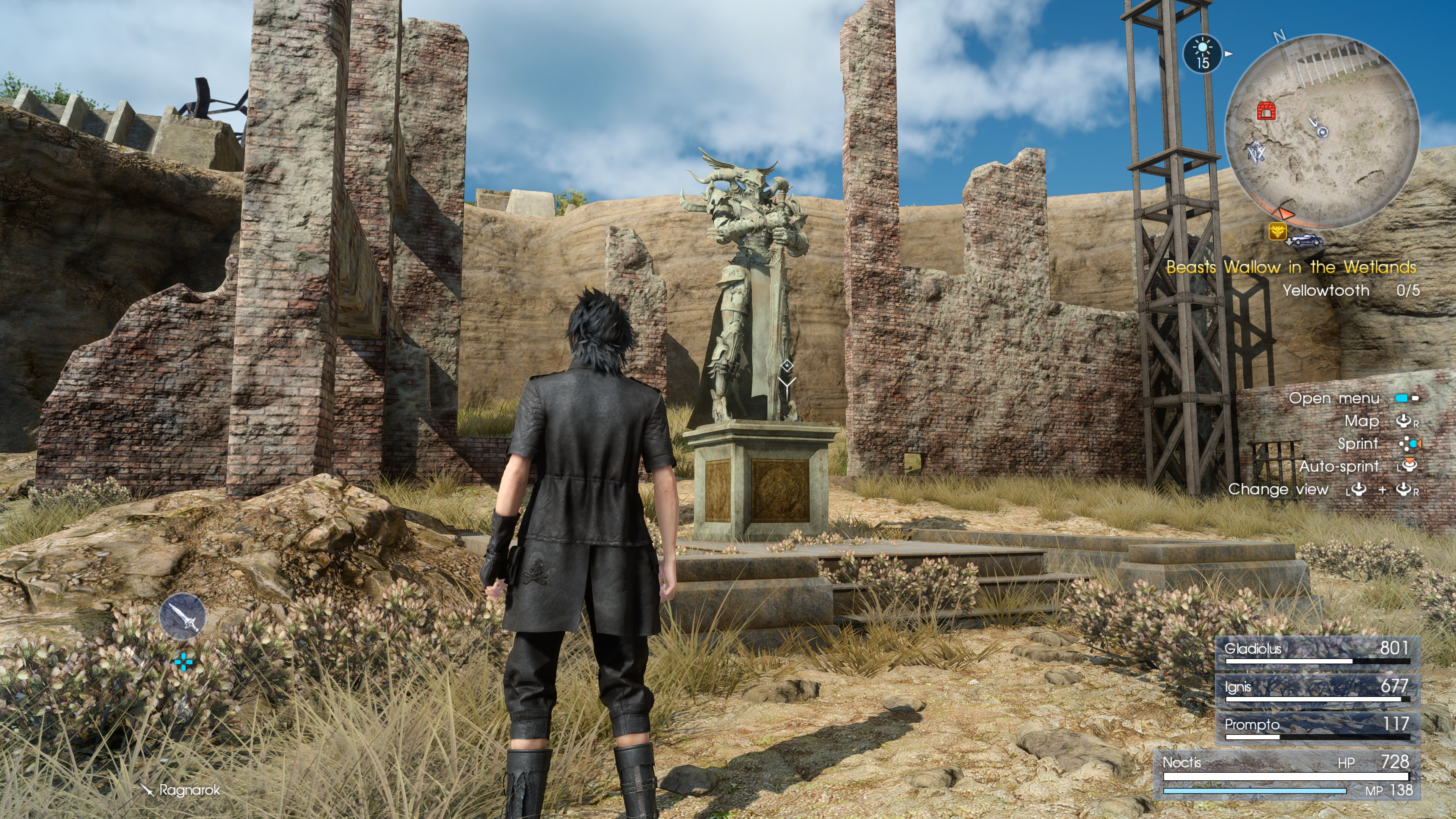 Final Fantasy XV Armiger Unleashed - how to get the Founder
