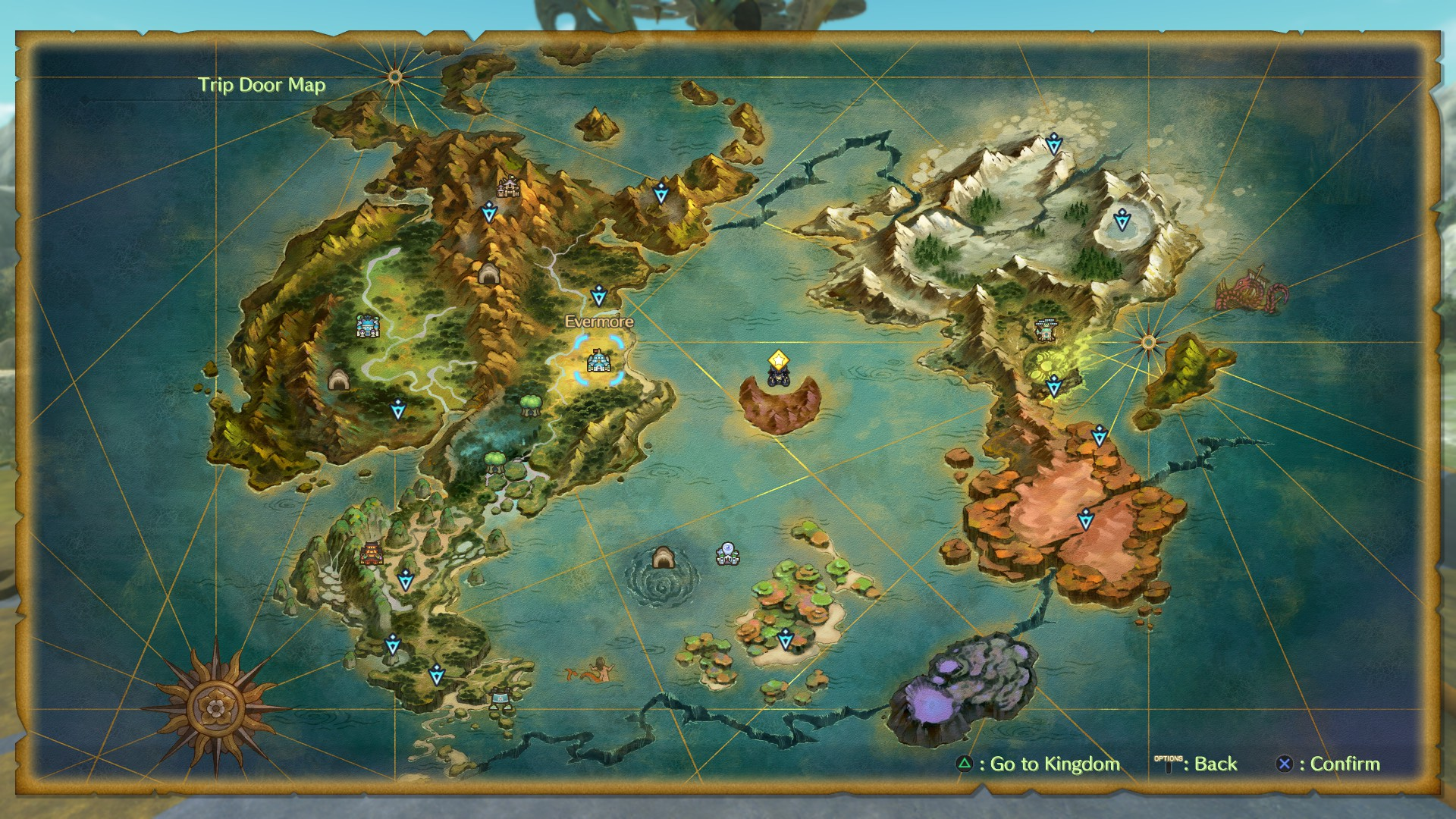 Ni no Kuni II Map Guide: All the locations, areas, caves, and more