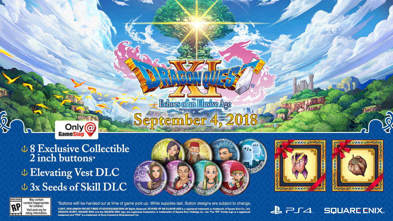 dragon quest 11 edition of lost time pc