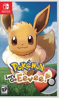 Pokemon lets go eevee boxart