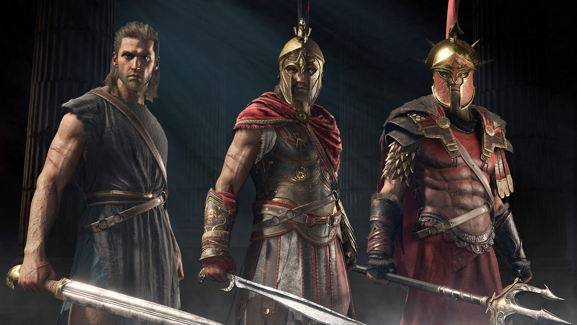 Assassin's Creed Odyssey debut gameplay trailer   RPG Site