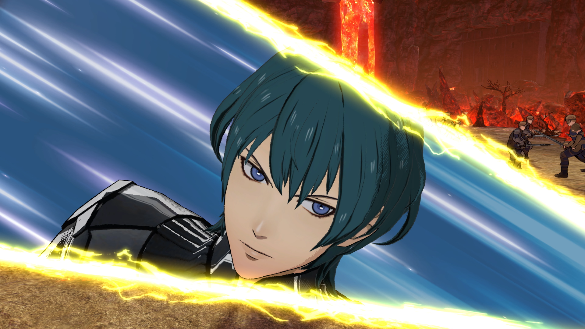 Image result for fire emblem 3 houses gif