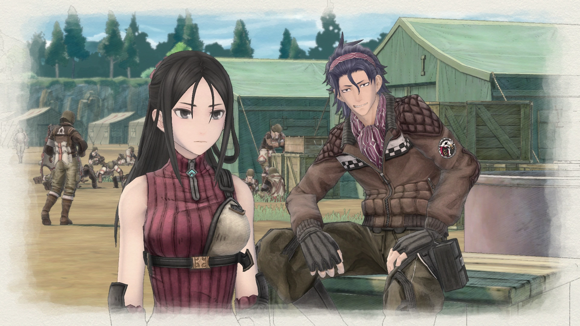 There is romance relationships in the game? :: Valkyria ...