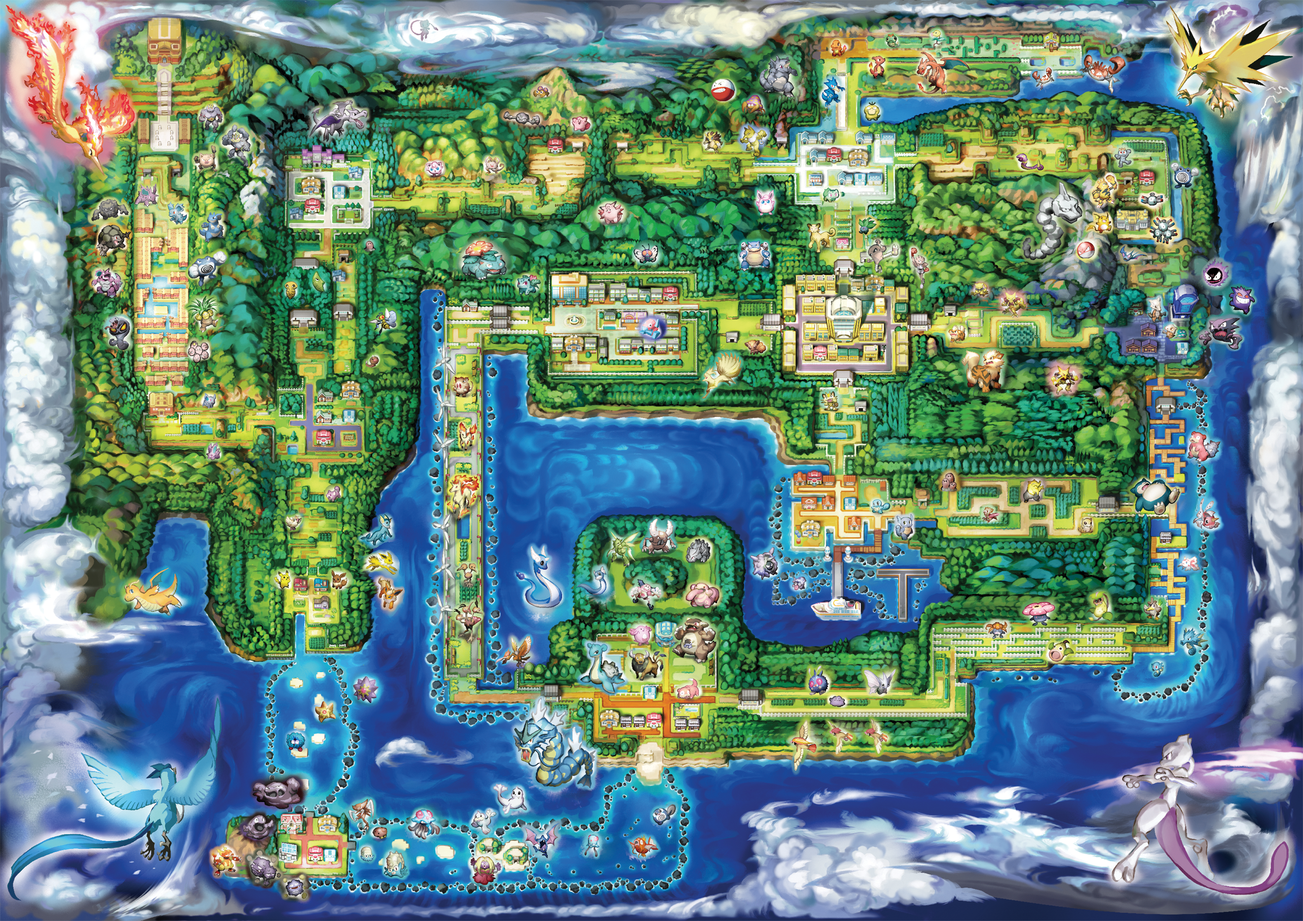 carte pokemon let s go Gaming world maps | ResetEra