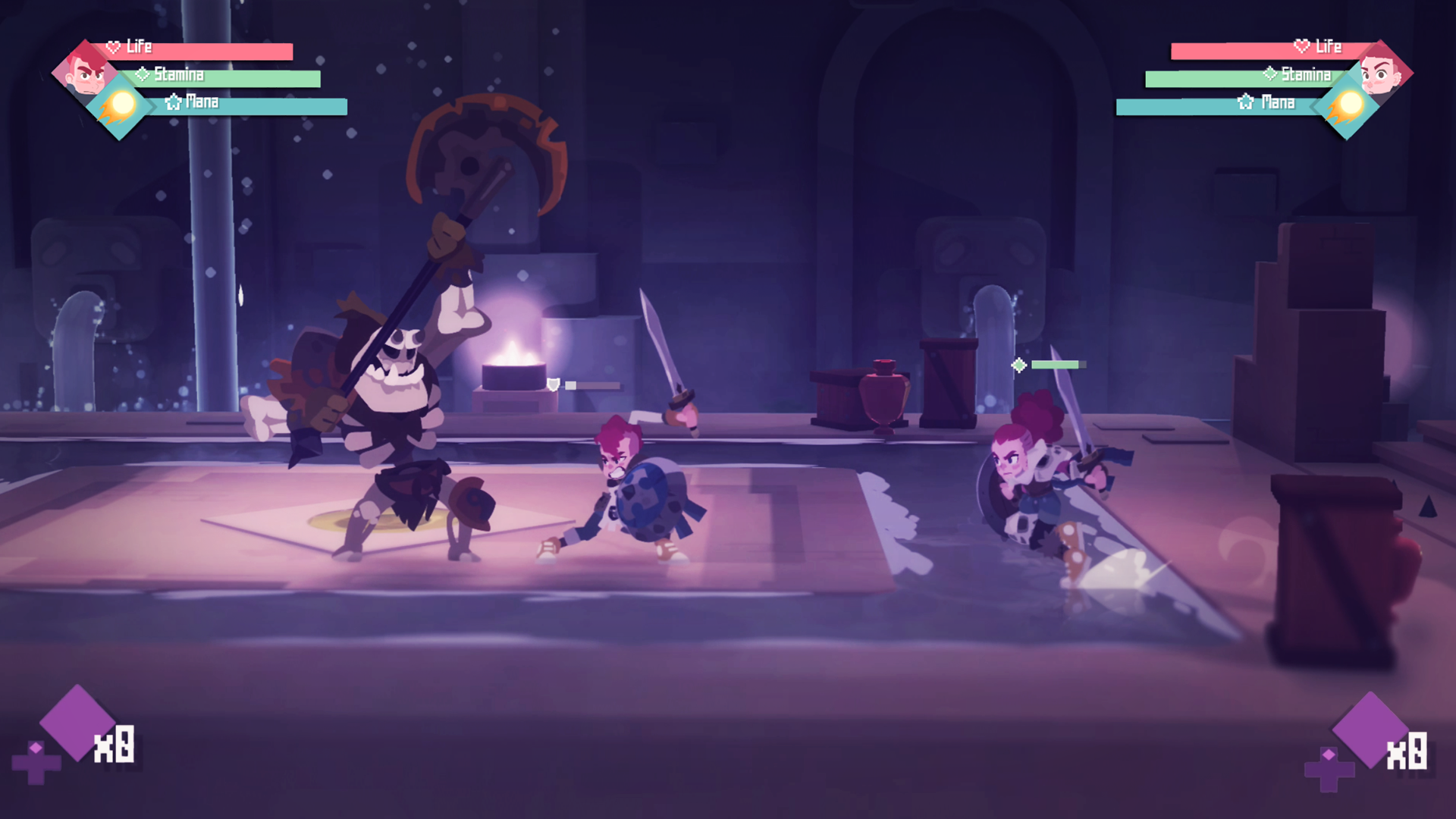 Indie Rpg Beat Em Up Hybrid Young Souls Announced By The Arcade Crew