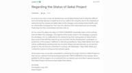 Sekai project kickstarter status update