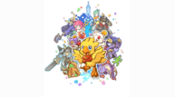 Chocobos mystery dungeon every buddy keyart