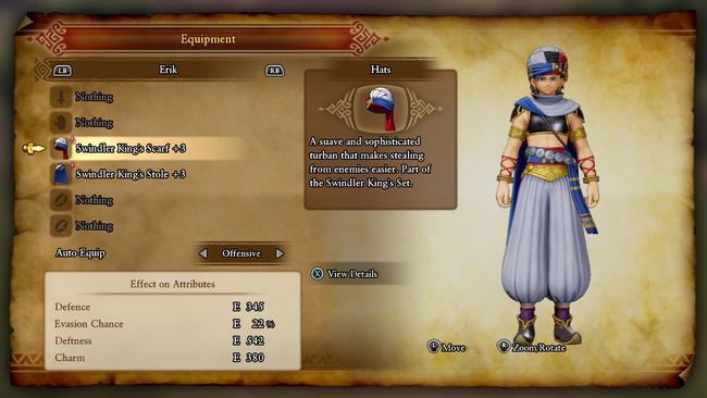 Dqxicostume Erik Dragon Quest Dedicated Folower Of