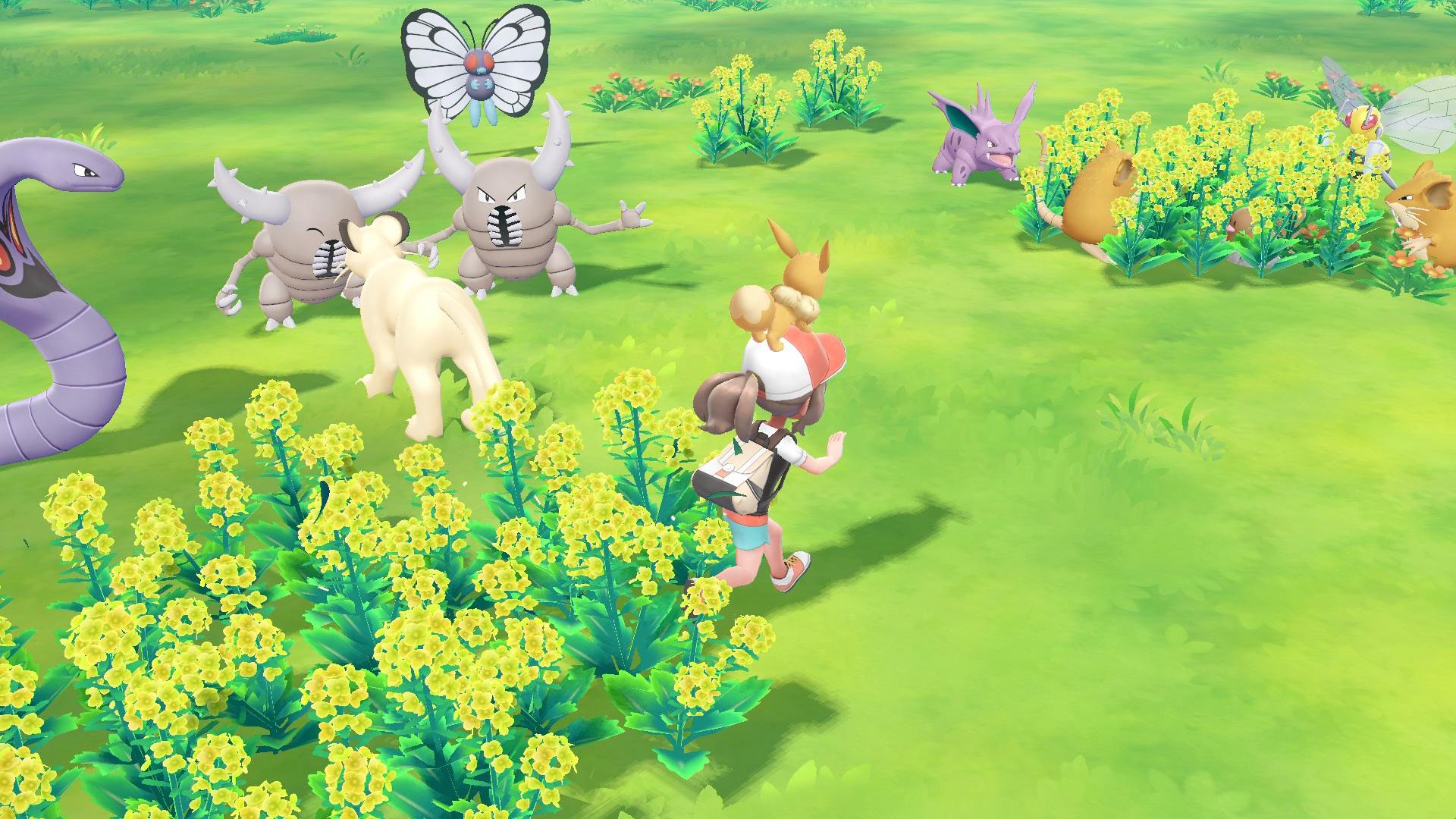 pokemon lets go pikachu and lets go eevee details