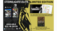 Steins gate elite 092618 limited edition 1