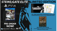 Steins gate elite 092618 limited edition 2