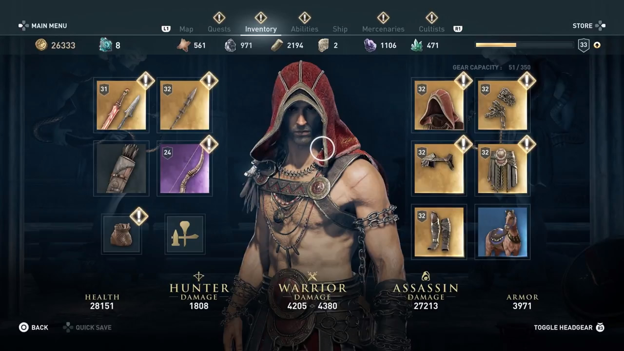 Assassin S Creed Odyssey Armor Best Armor For The Early Late