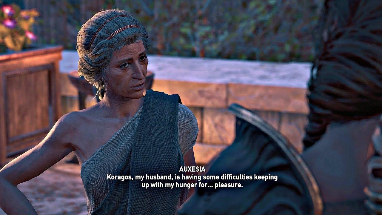 Assassins Creed Odyssey Romanzen