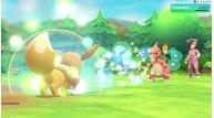 Pokemon lets go eevee moves bouncy bubble freezy frost glitzy glow