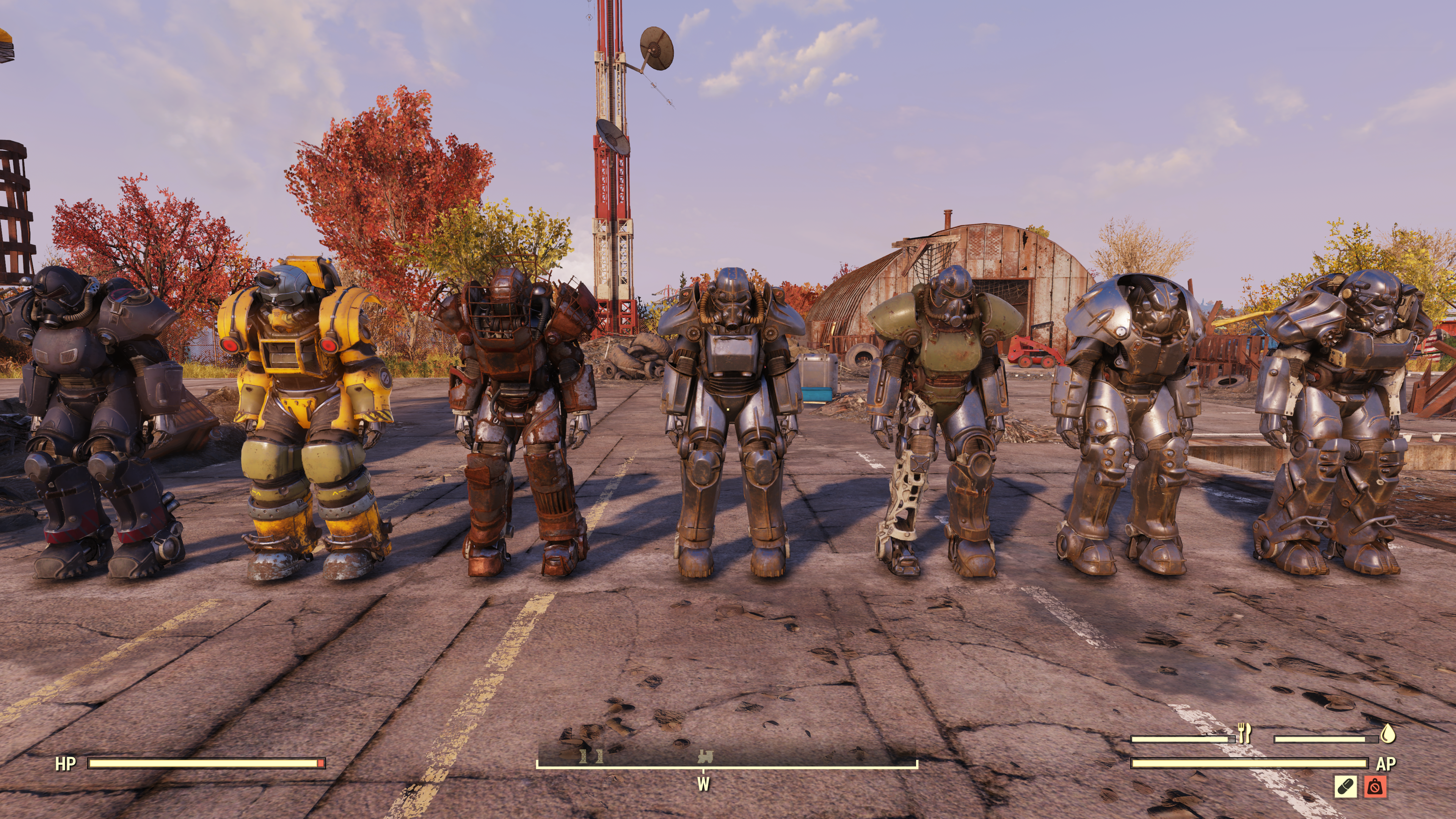 power armor fallout 76