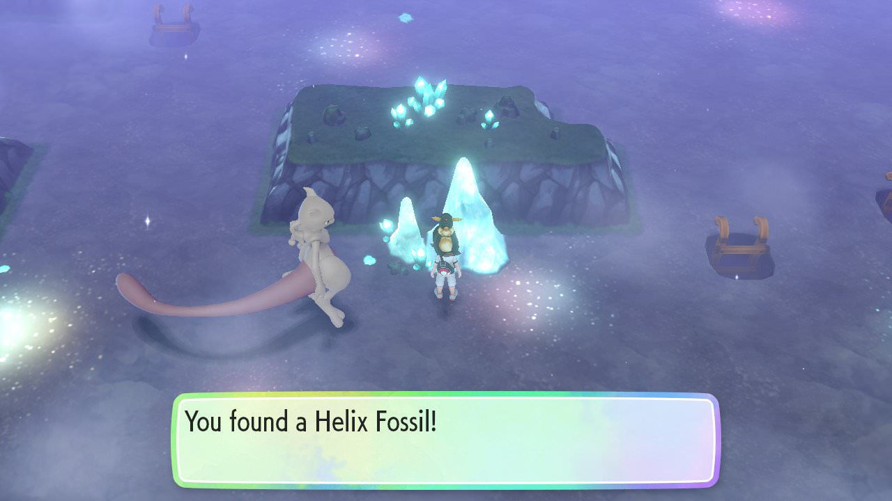 Pokemon Let's Go Fossils: the Dome Fossil, Helix Fossil, Old Amber