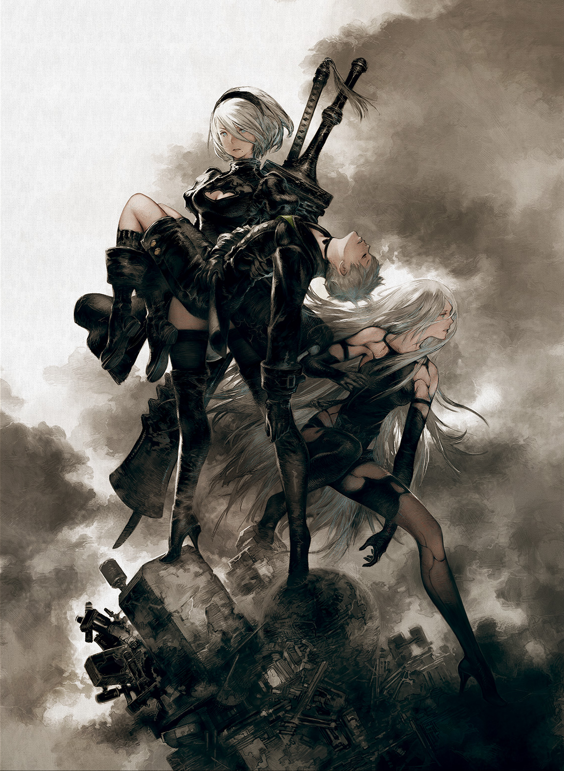 What are you doing nier automata