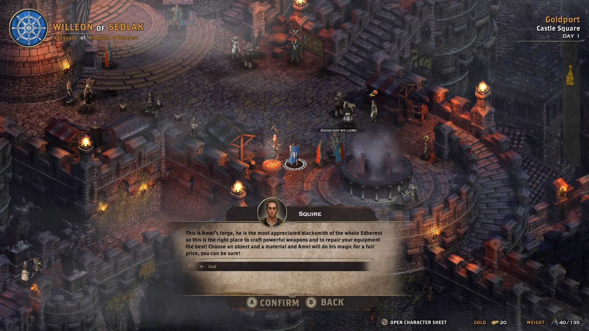 Alaloth: Champions of the Four Kingdoms is a isometric