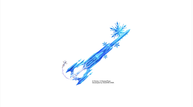Kingdom hearts iii keyblade frozen