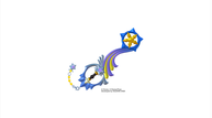 Kingdom hearts iii keyblade shooting star