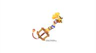Kingdom hearts iii keyblade winnie the pooh