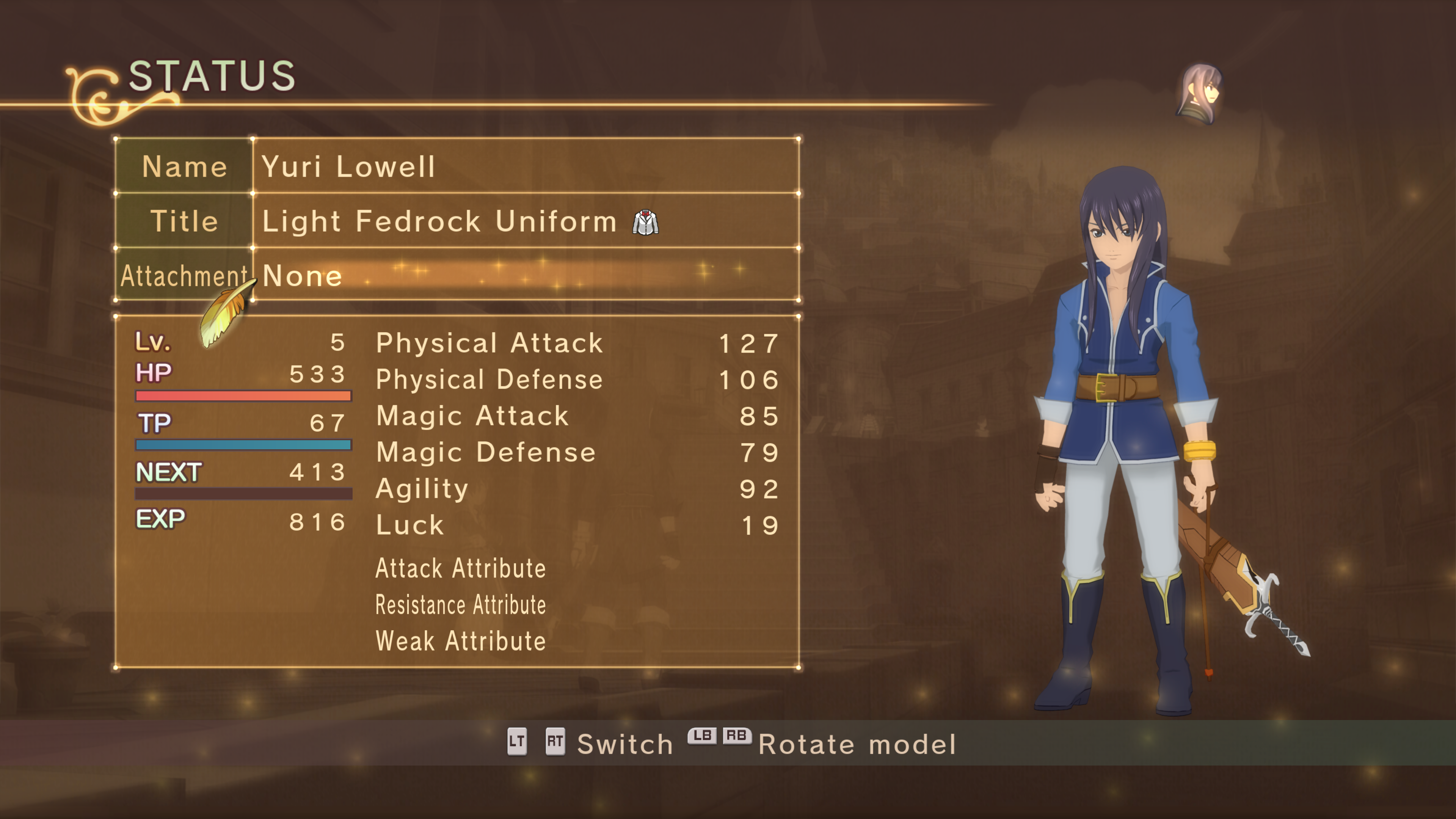 Tales of Vesperia Definitive Edition Costumes & Titles: how to