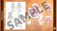 Record of agarest war mariage artbook sample 03