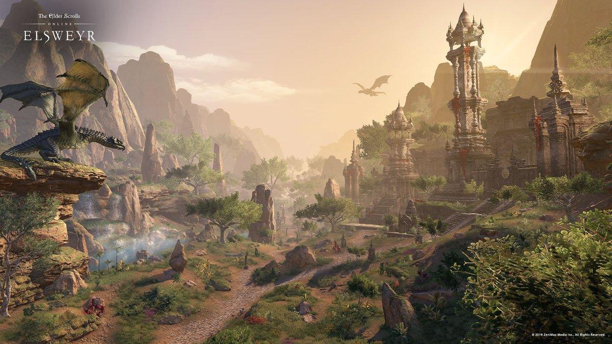 Bethesda announces The Elder Scrolls Online: Elsweyr for PS4, XB1